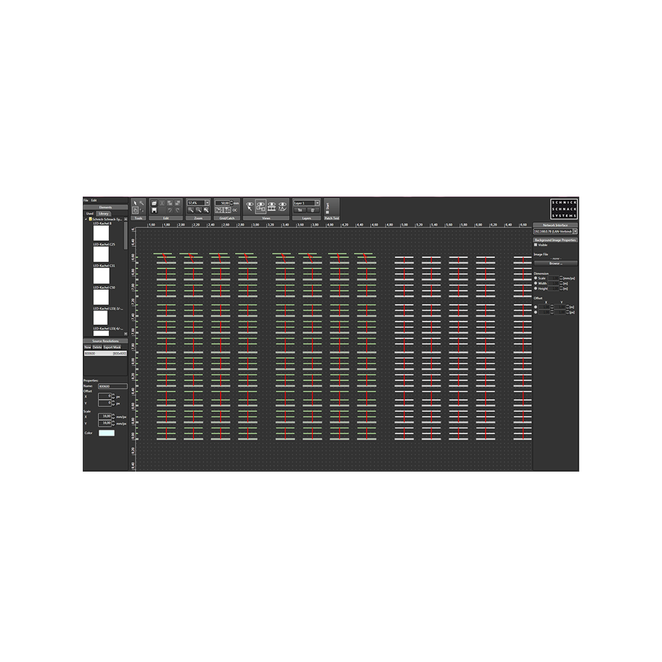 Schnick Schnack Systems Pixel Gate